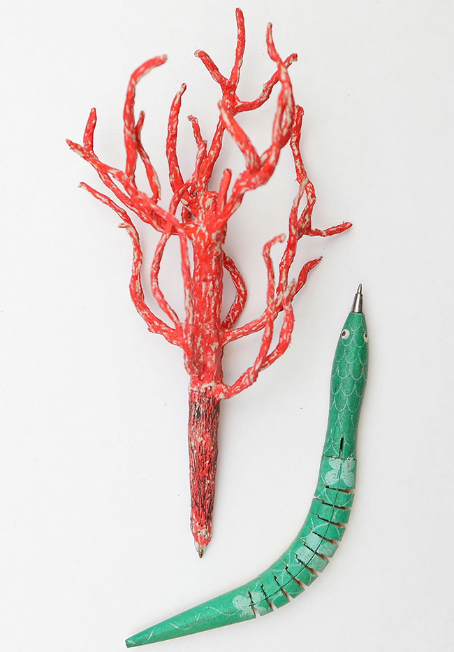 Ръчно изработени писалки.
