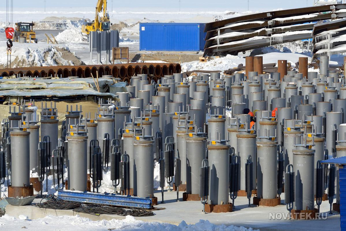 Yamal LNG project.