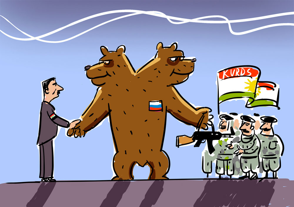 Russian policy towards Kurds in Syria