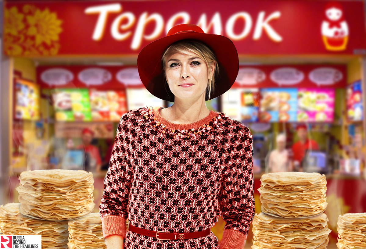 Teremok, pancakes - Some like it hot, Sudarynya!