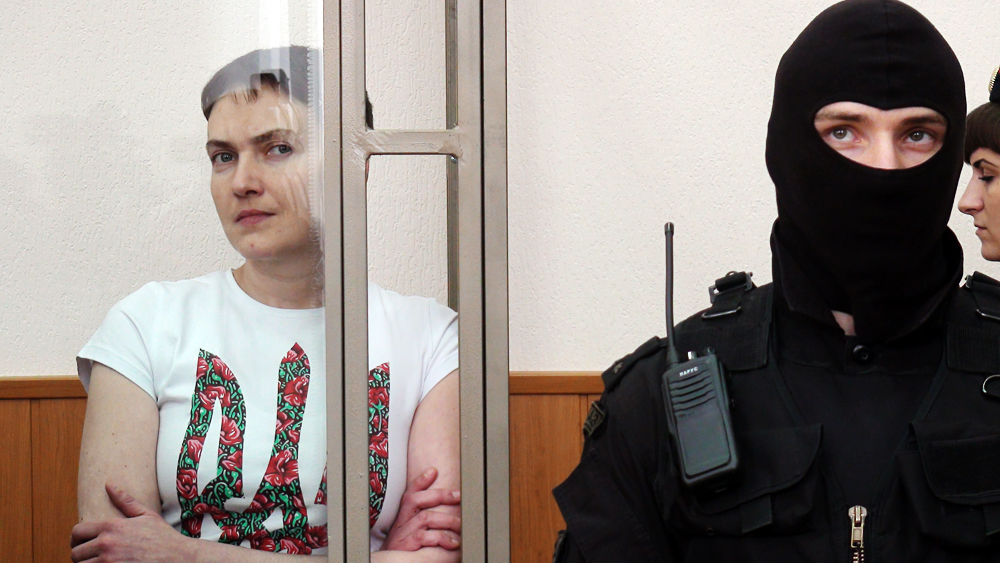Ukrainian pilot Nadiya Savchenko has been sentenced in Russia to 22 years in prison.