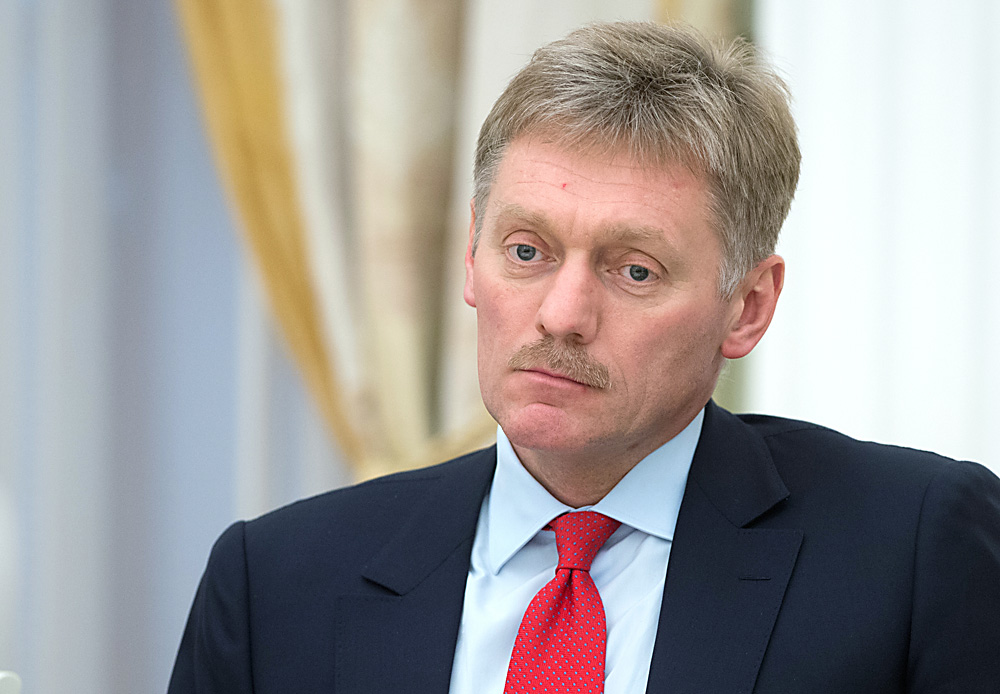 Russian presidential press secretary Dmitry Peskov.