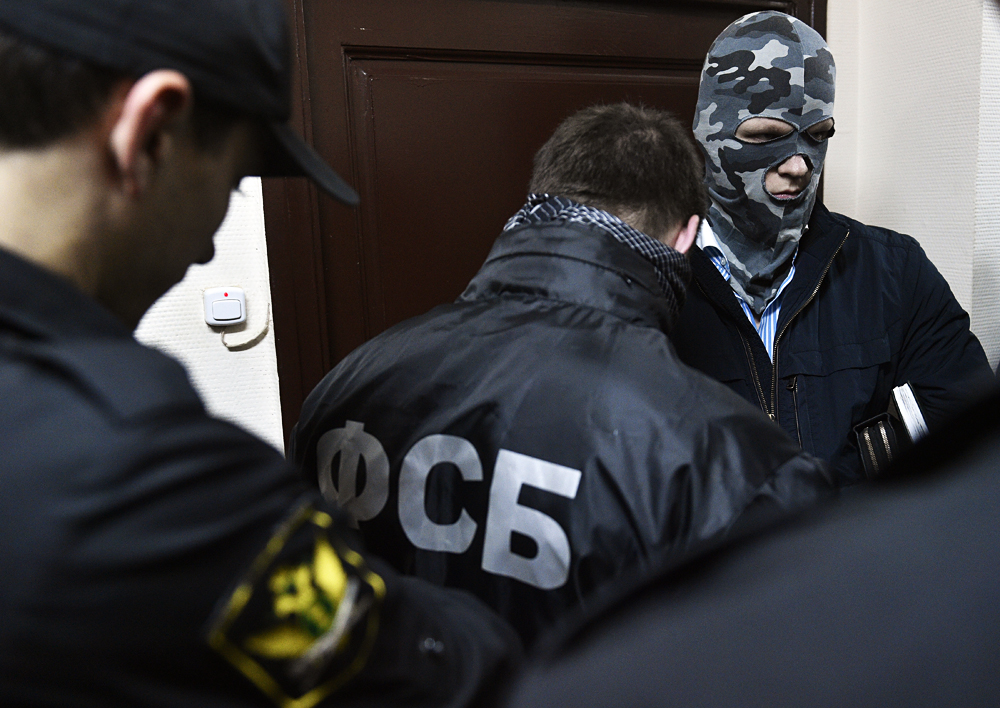 Russian security and police forces conducted a special operation and arrested 18 Turkish citizens with forged documents in Moscow.