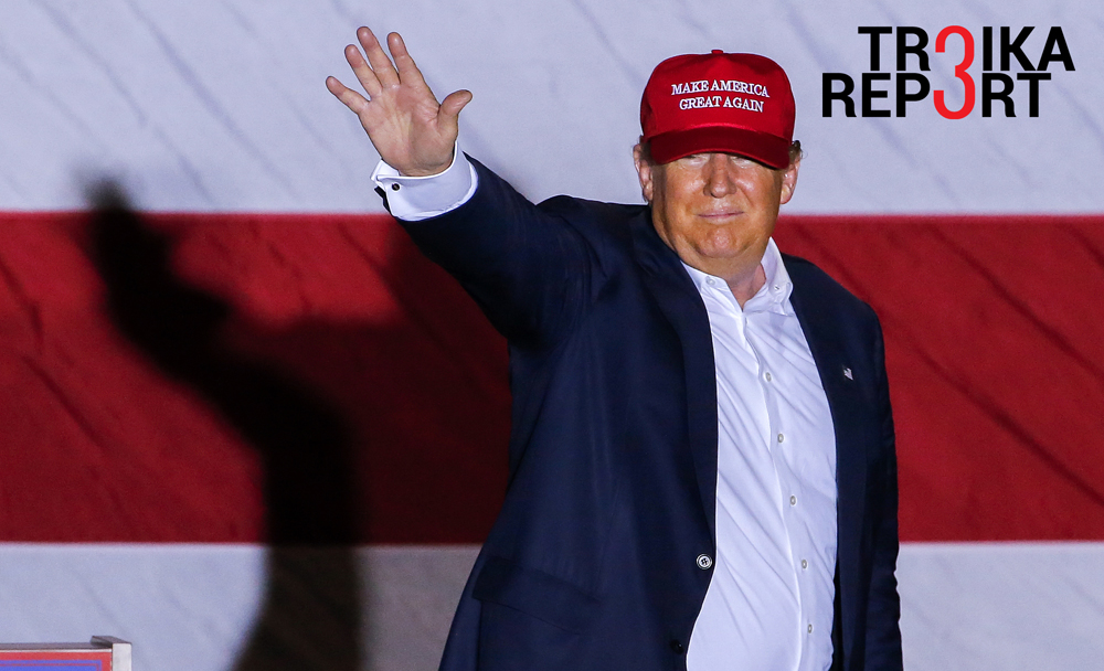 Donald Trump has emerged out of the blue as a true alternative to the mainstream candidates.