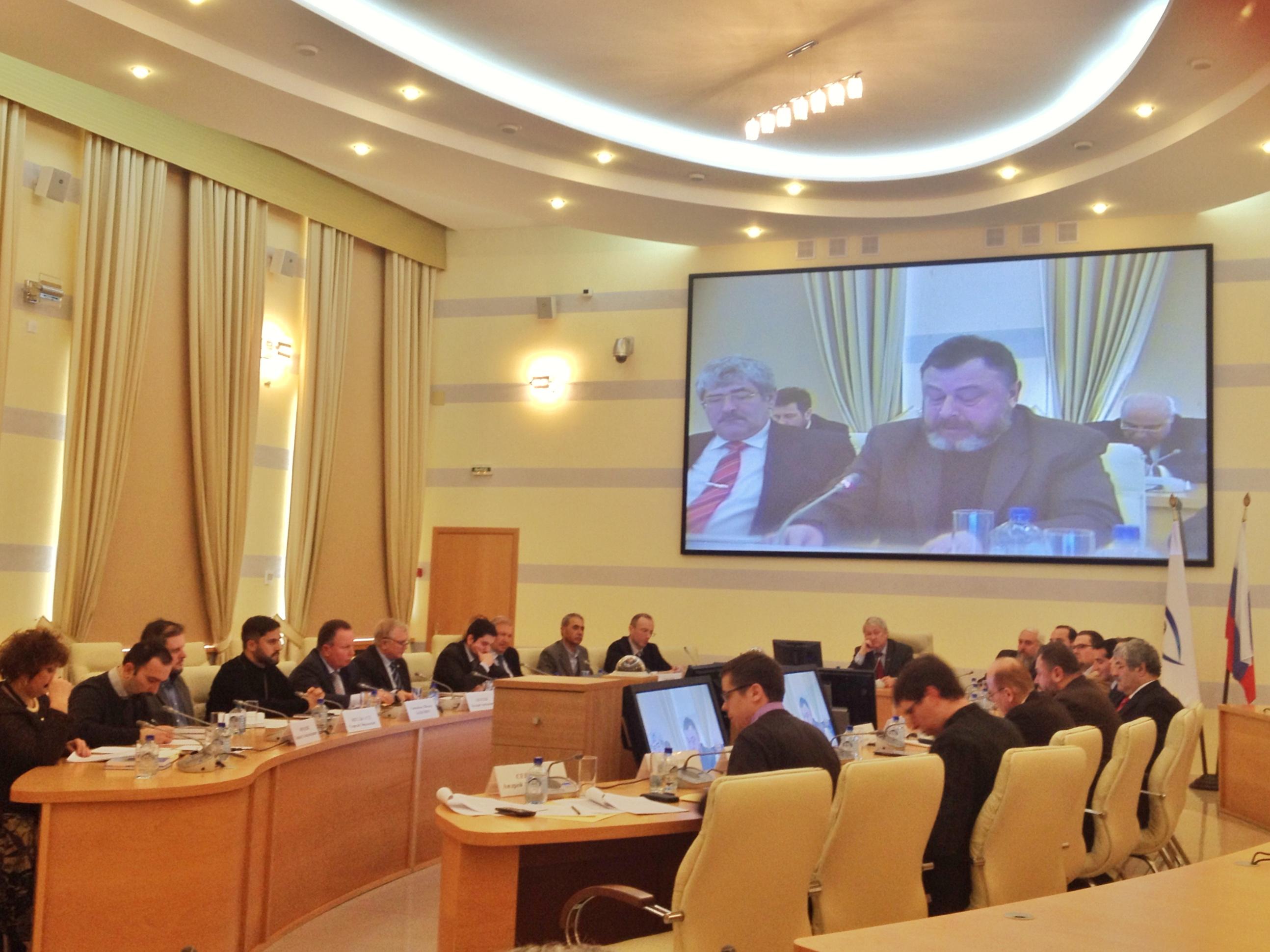 Участие в конференцията взеха представители на Русия, Сърбия, Черна гора, както и Сирия, Ливан, Австрия, Италия и Ватикана.