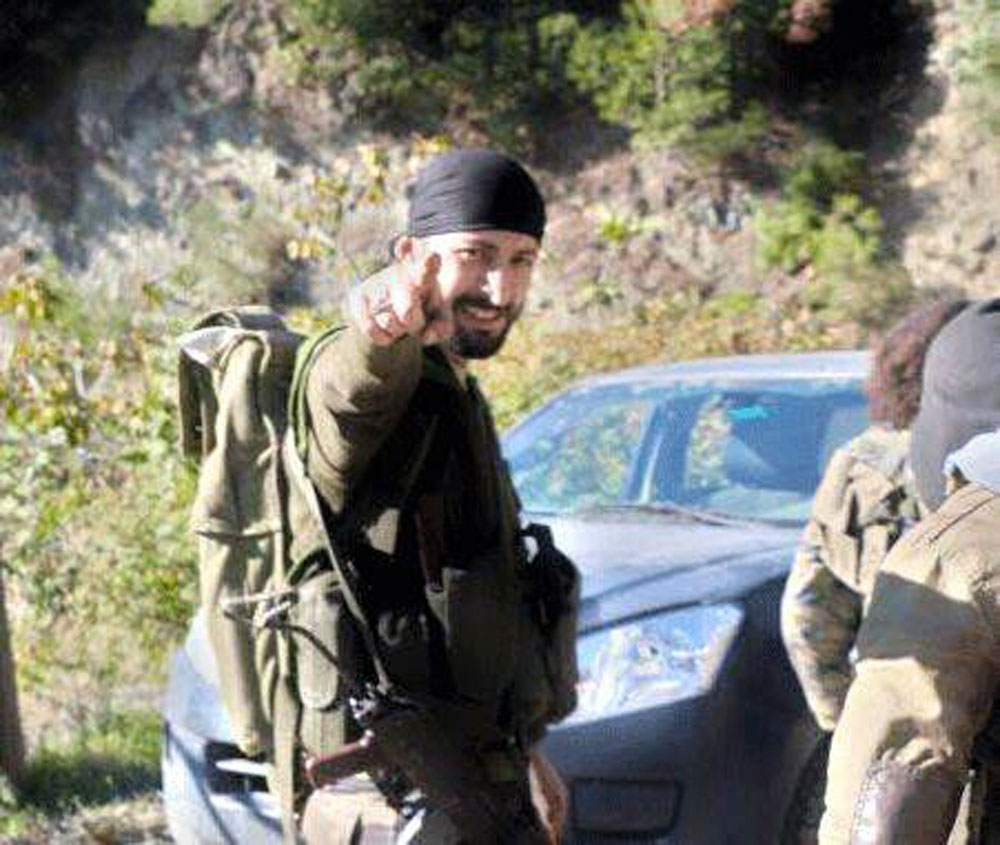 Alparslan Chelik, the Turkish citizen and militant responsible for killing Russian Su-24 pilot Oleg Peshkov.