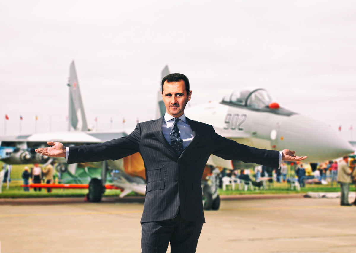 Assad stars in new commercial for Russian fighter jets