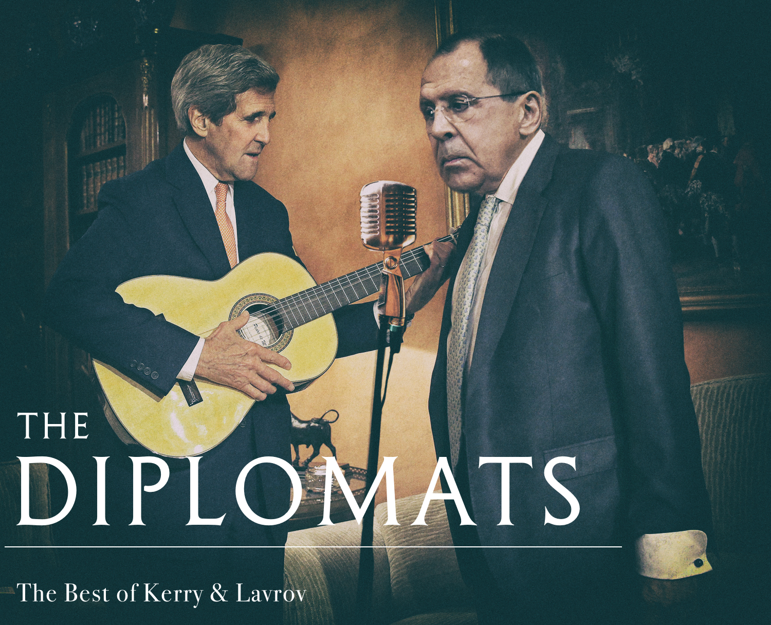 Kerry and Lavrov to form new band called The Diplomats - Kerry on guitar, Lavrov on vocals