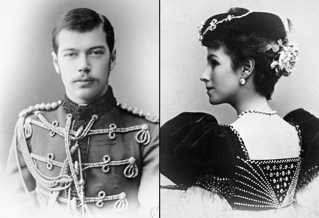 Nicholas II and Mathilde Kschessinskaya