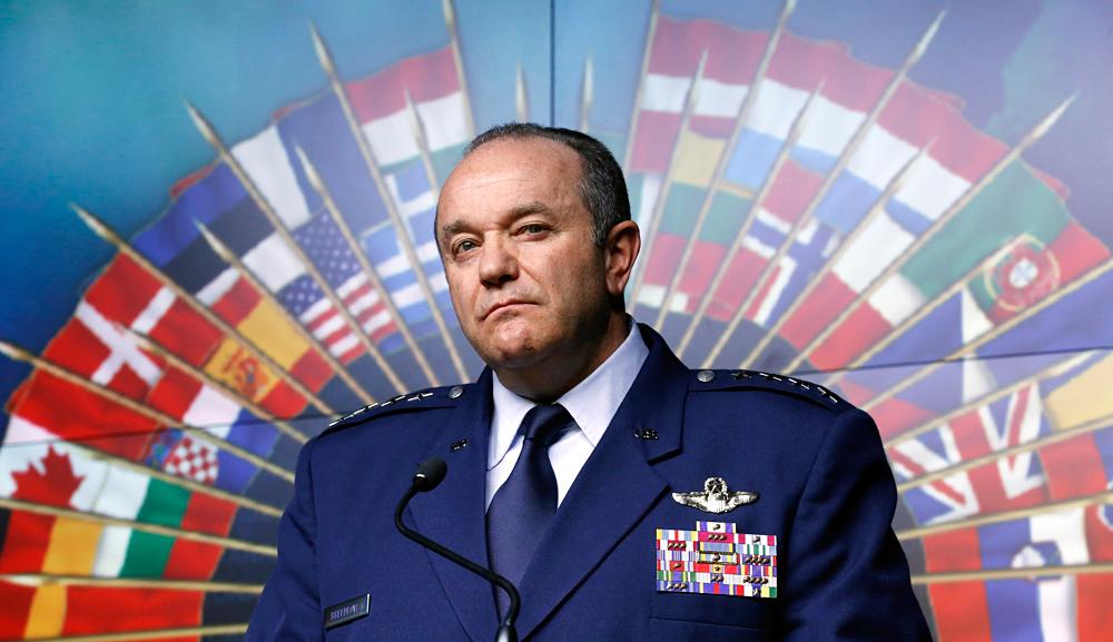Le commandant suprême des forces de l'Otan en Europe, le général Philip Breedlove.
