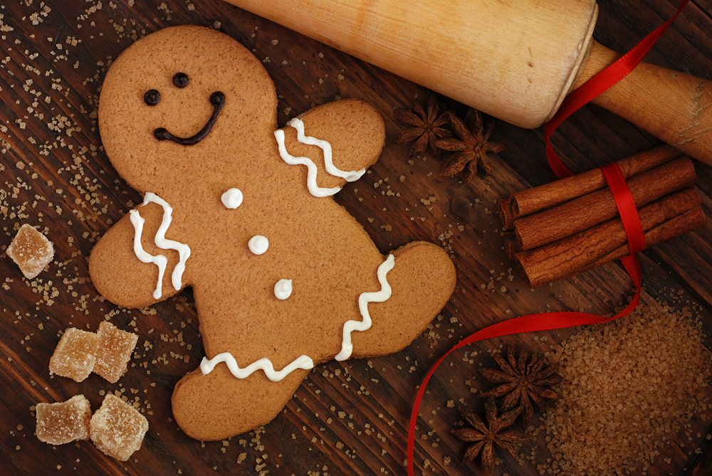 You will have the opportunity to create your own unique gingerbread.