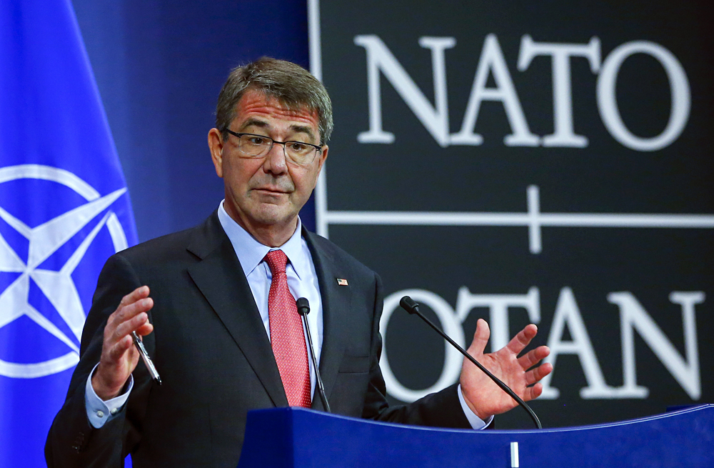 U.S. Secretary of Defence Ash Carter.