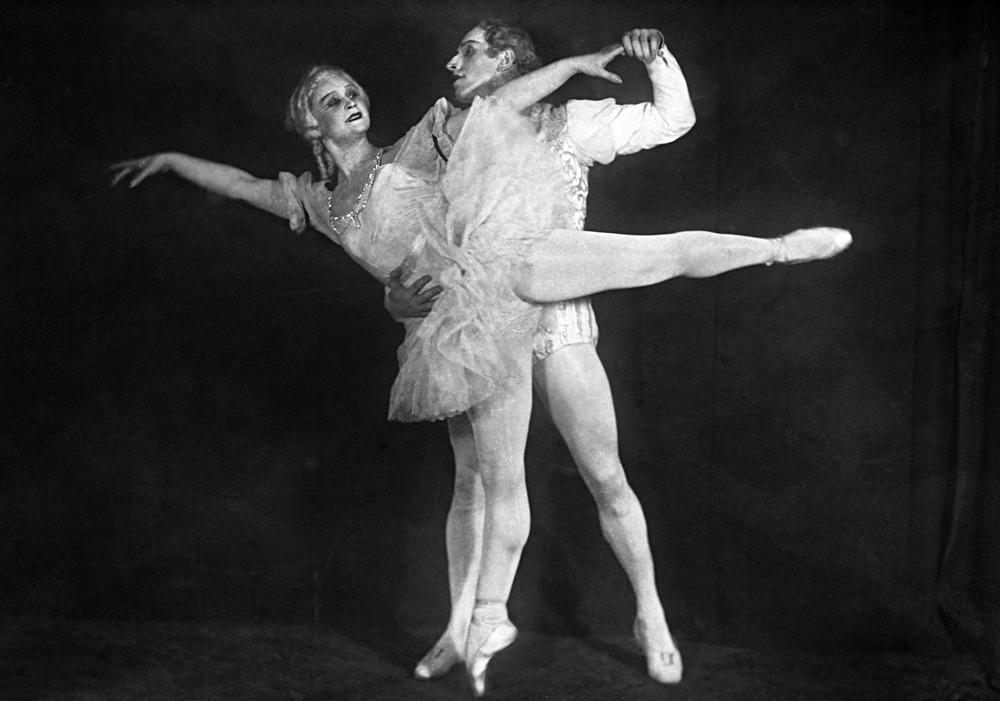 Марија Семенов и Алексеј Ермолаев, 1939 година.\n