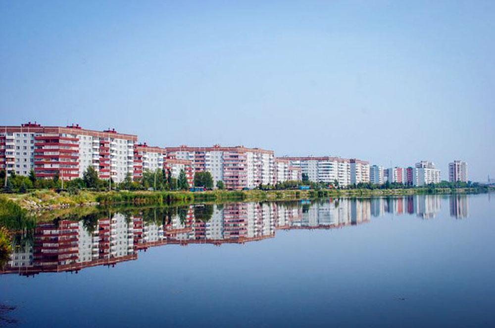 Vista de Oziorsk.
