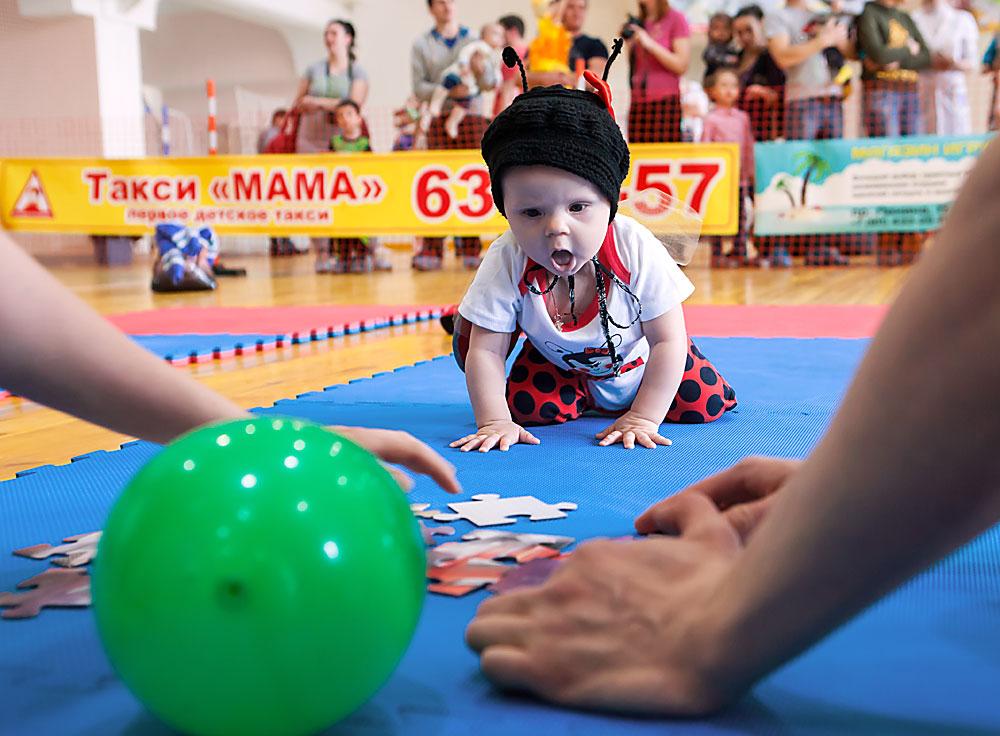 Бебећа јурњава у Петрозаводску