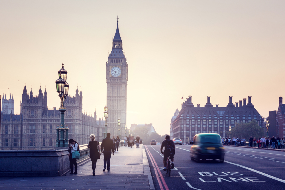Russian walks in London