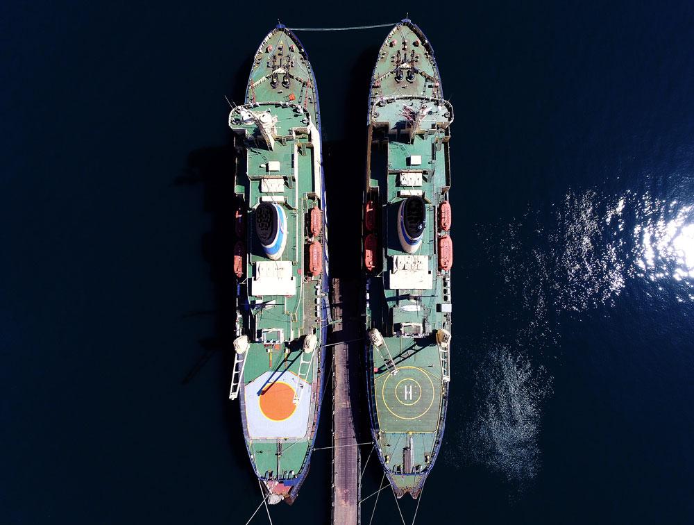 Танспортната група мразокршачи FESCO заврши со зимската пловидба на Далечниот Исток