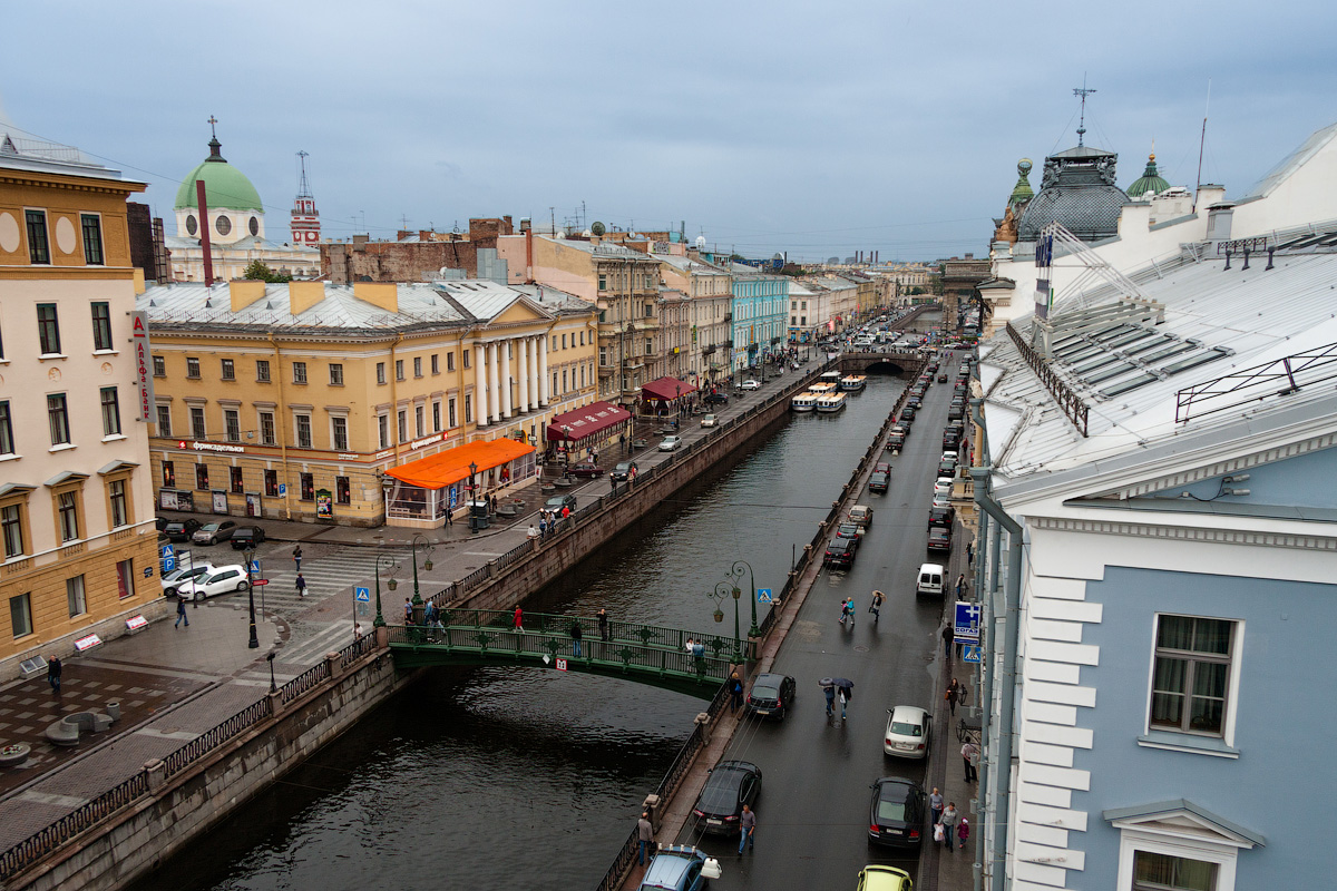 Where to see the best view? No roofer will tell you about the best-kept secrets. But some famous places to see are the roofs of the buildings along the Neva river, on the bank of the Moyka river, or along the Fontanka and Griboedov canals.