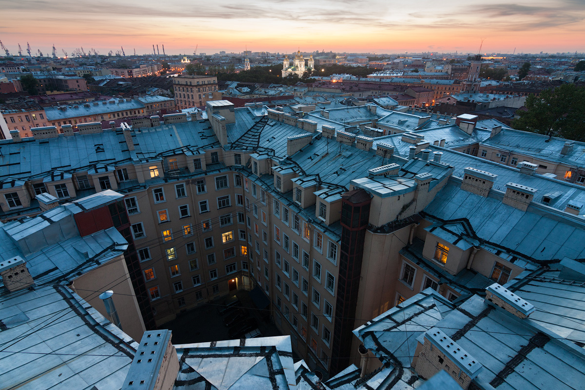 According to Russian law, roofing is not illegal, but locals might object to you clambering over their roofs.