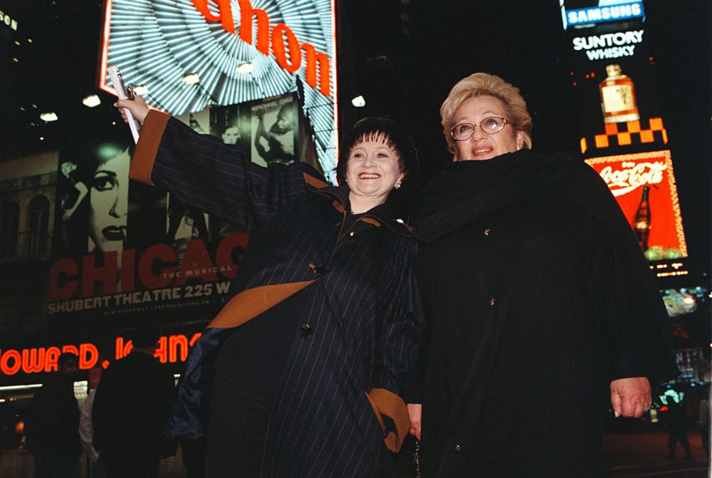 1997 tourne em Nova Yorque. Voltchek (a dir.)