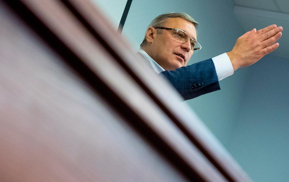 Sex vor versteckter Kamera kann dem Oppositionsführer Michail Kassjanow seinen Posten kosten.