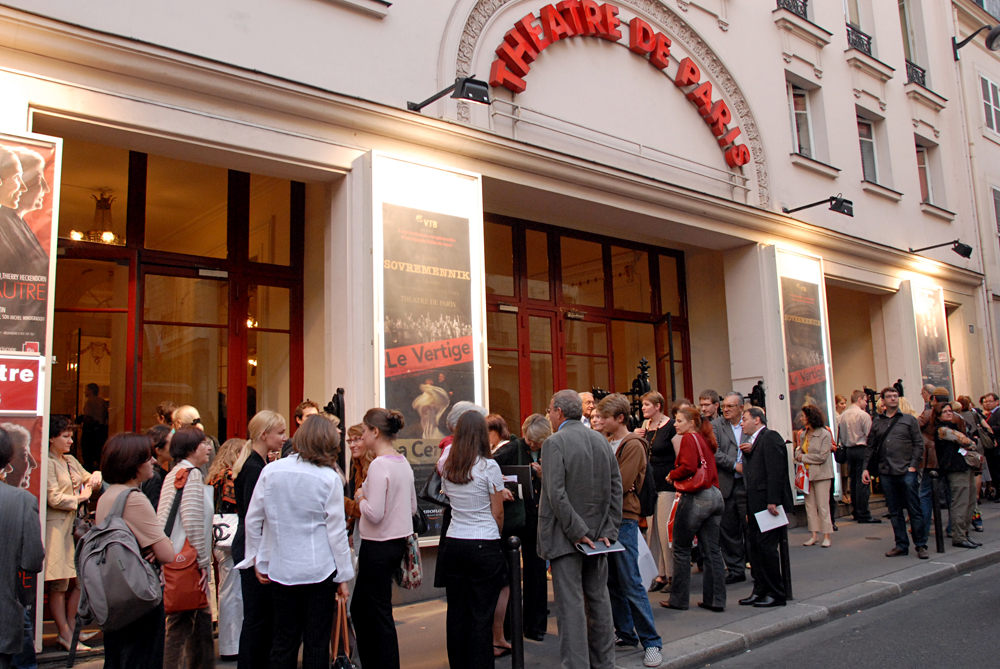 Gira del teatro por Francia