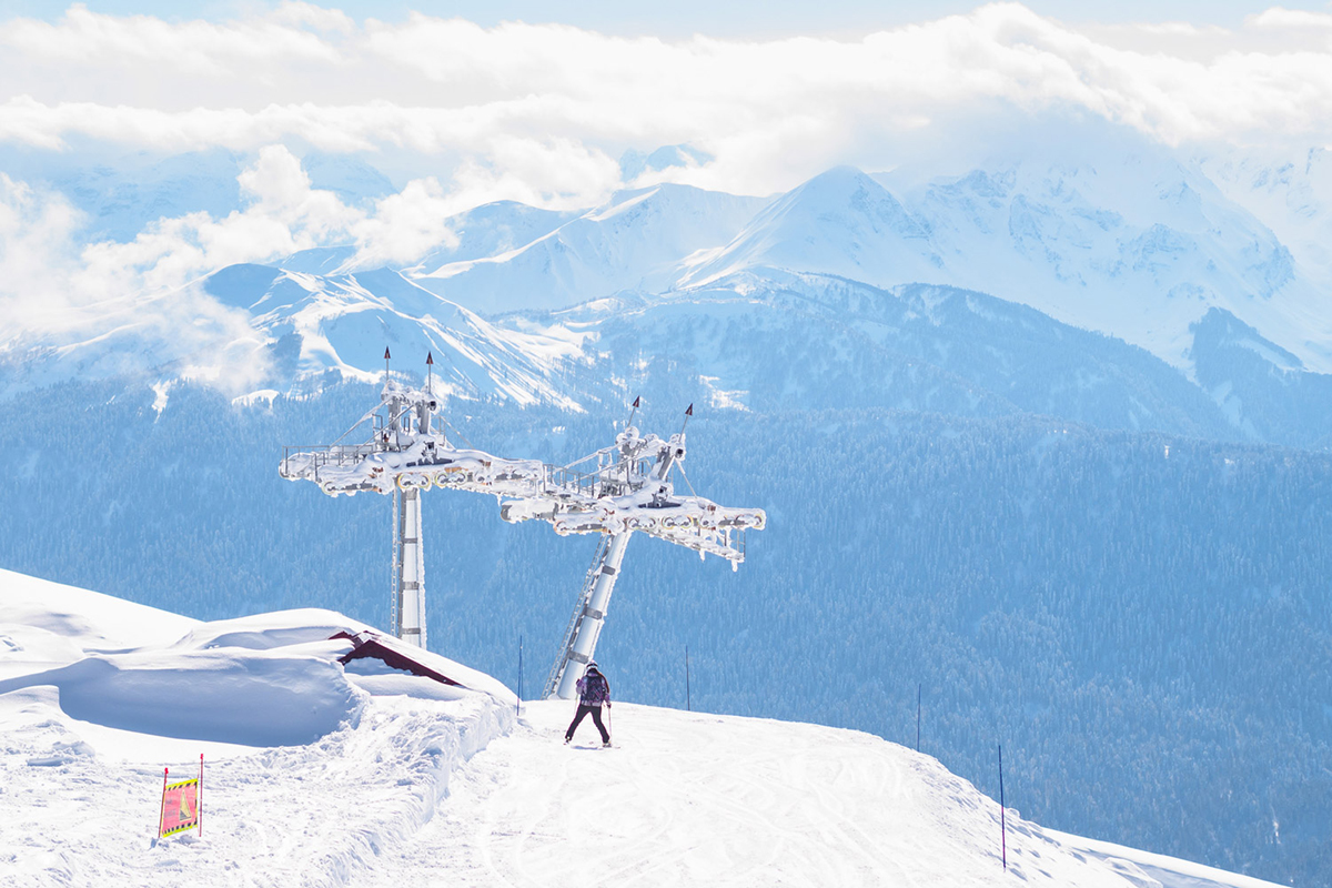 The resorts have continued their path of development after the Olympic and Paralympic games ended. More slopes and lifts have appeared in the two years since the Games.