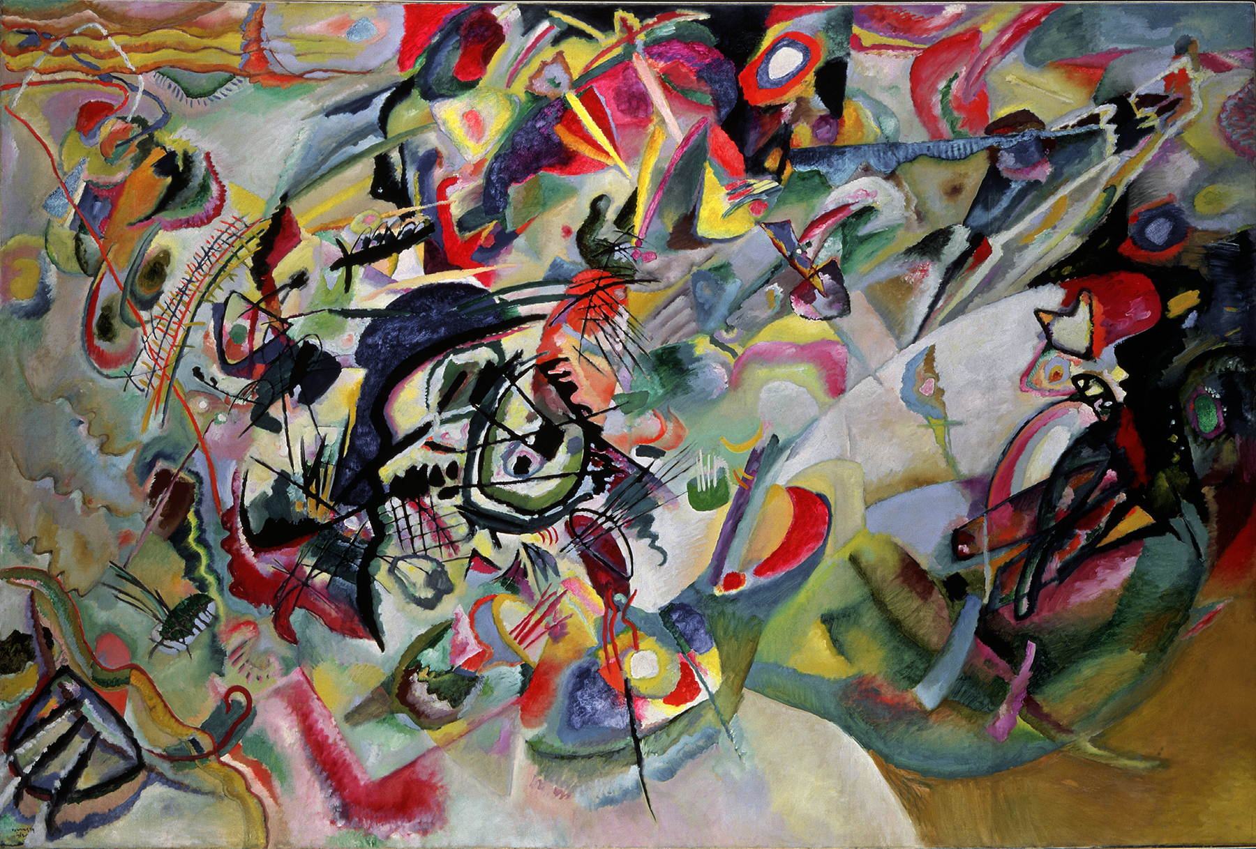 Wasiliy Kandinskiy. Composition VII. 1913. Oil on canvas.