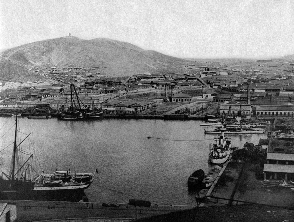 A view of Port Arthur. 1904. Source: RIA Novosti