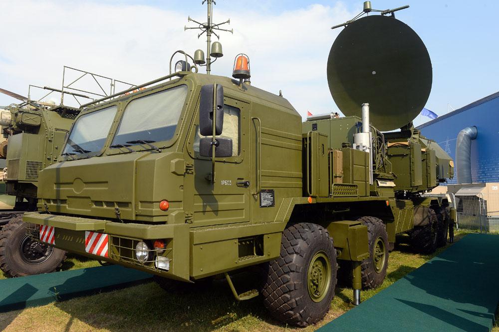 A ground-based, unified electronic warfare system at the MAKS-2015 International Aerospace Salon in Zhukovsky near Moscow. Source: Mikhail Voskresenskiy / RIA Novosti