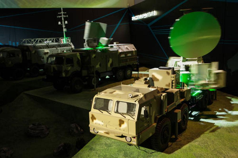 Sistem za elektronsko vojskovanje Krasuha-4.