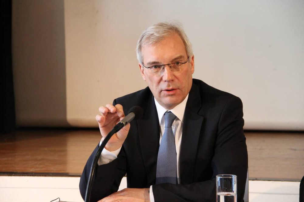 "Alexander Grushko: ""We and the NATO have no positive agenda."""