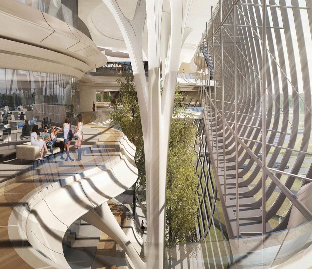 Un progetto dell'architetto Zaha Hadid.