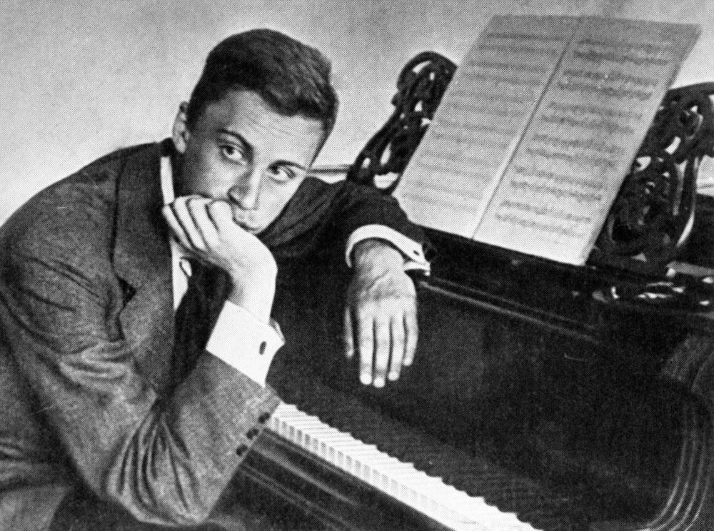 Composer Sergei Prokofiev.