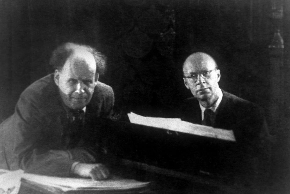 Sergej Ejzenštejn i Sergej Prokofjev, 1937. (foto: Per Atašev)
