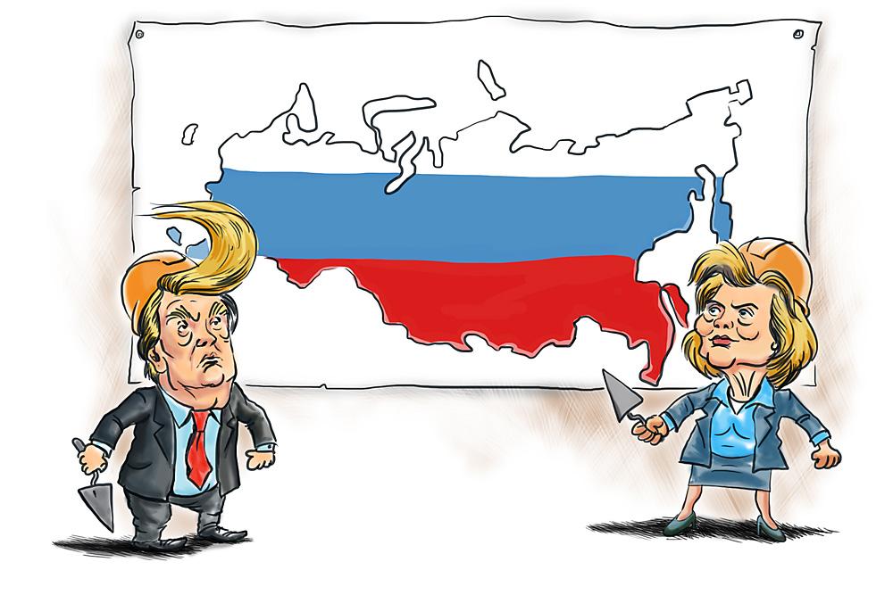 ¿Quién es más conveniente para los intereses de Rusia?