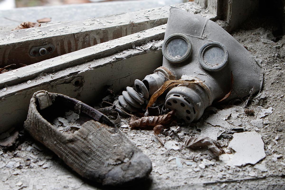 Dječja gas-maska i komad obuće i dalje stoje na podu vrtića u Pripjatu. Tog 26. travnja 1886 djece je krenulo u školu, kao i svakog drugog dana.