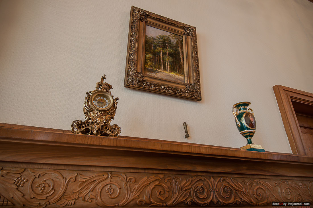 Among all the items that belonged to Yusupov, only the vase (pictured) can be found in the palace today.