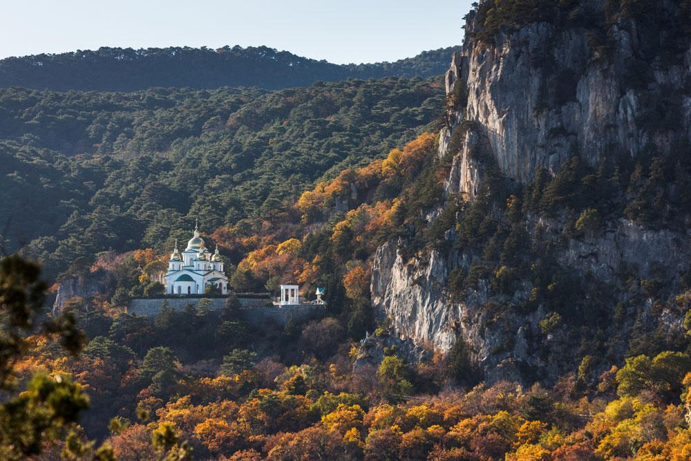 Eglise Archange Michel à Yalta