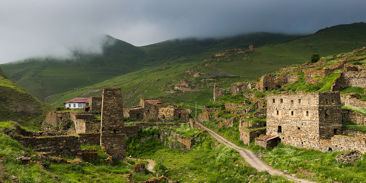 At the moment one man is living in an abandoned castle in the Digorskoye gorge in North Ossetia-Alania.