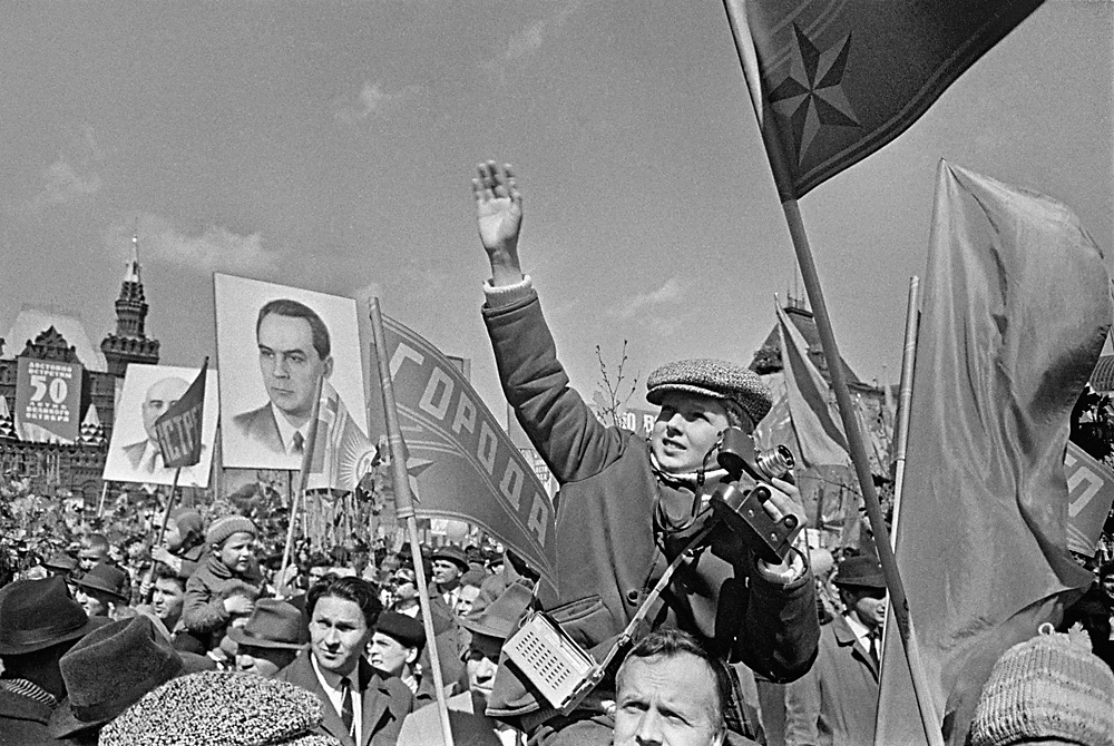 1st May demonstration on Red Square in Moscow, 1967. Foto: Anatoliy Garanin/RIA Novosti