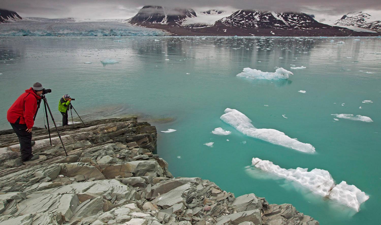 Руската Арктика заема огромна територия в протежението на Арктическия океан.