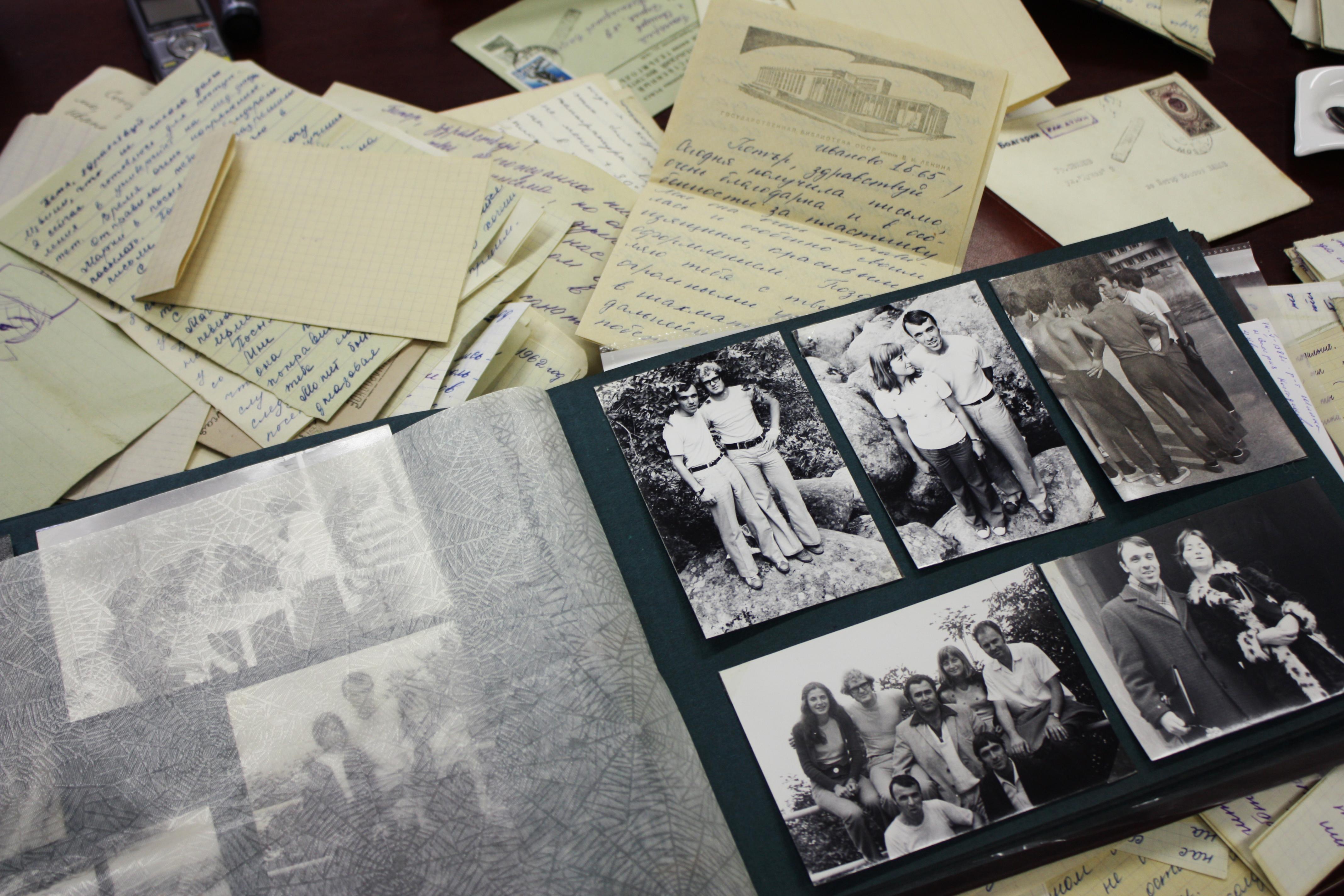 Малка част от архива на Петър Вацов.