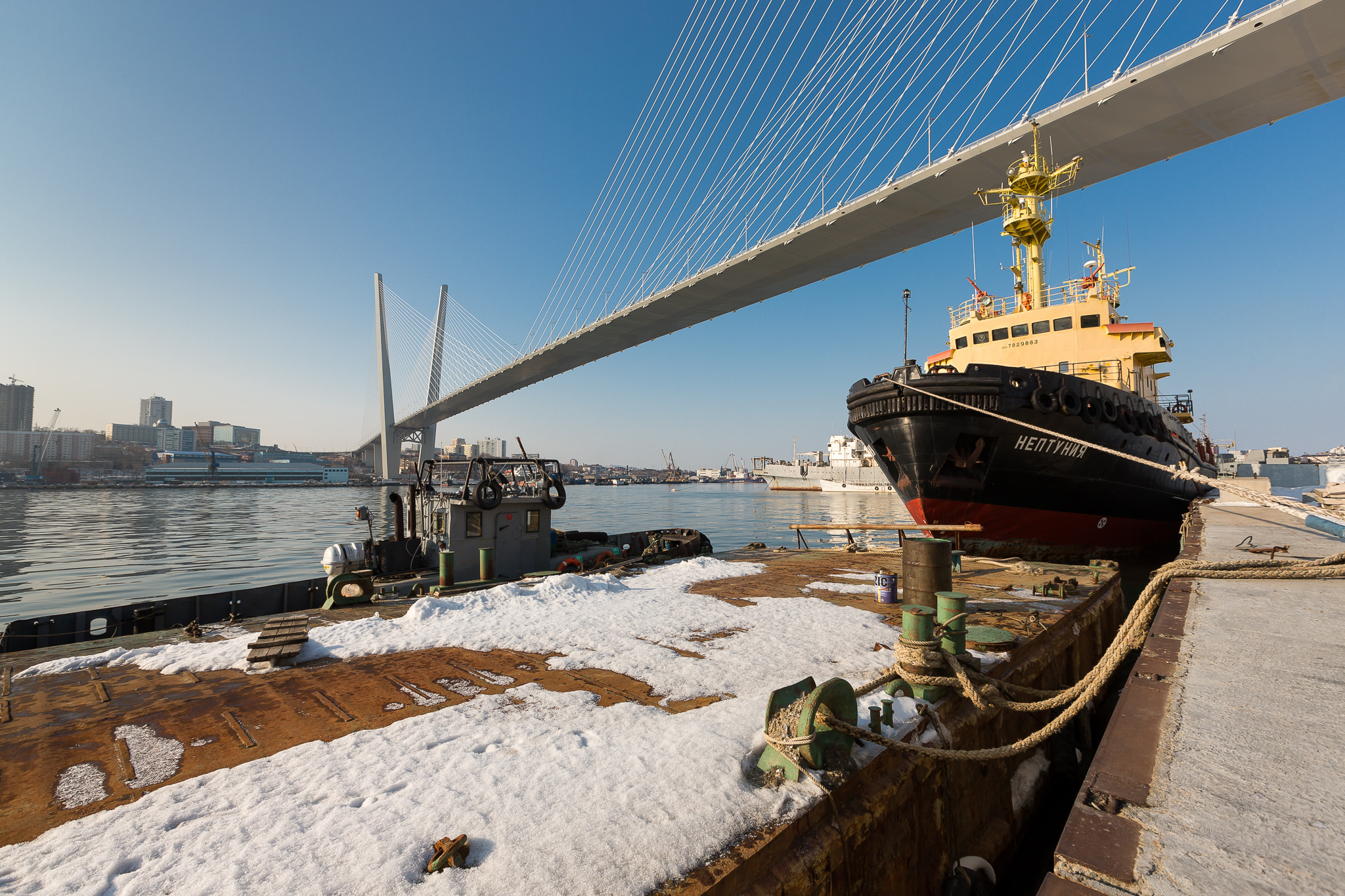 Vladivostok Harbor.