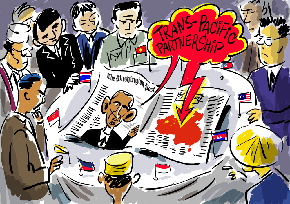 Trans-Pacific Partnership Obama Natalia Stapran