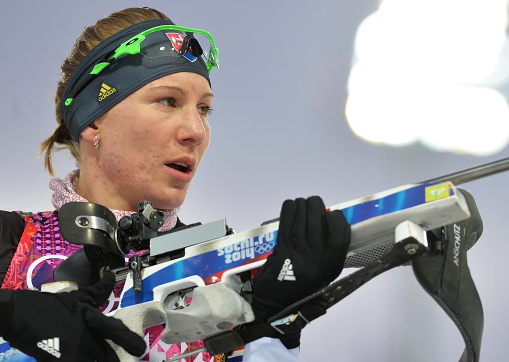 Anastasia Kuzmina. Foto: Iliya Pitalev/RIA Novosti