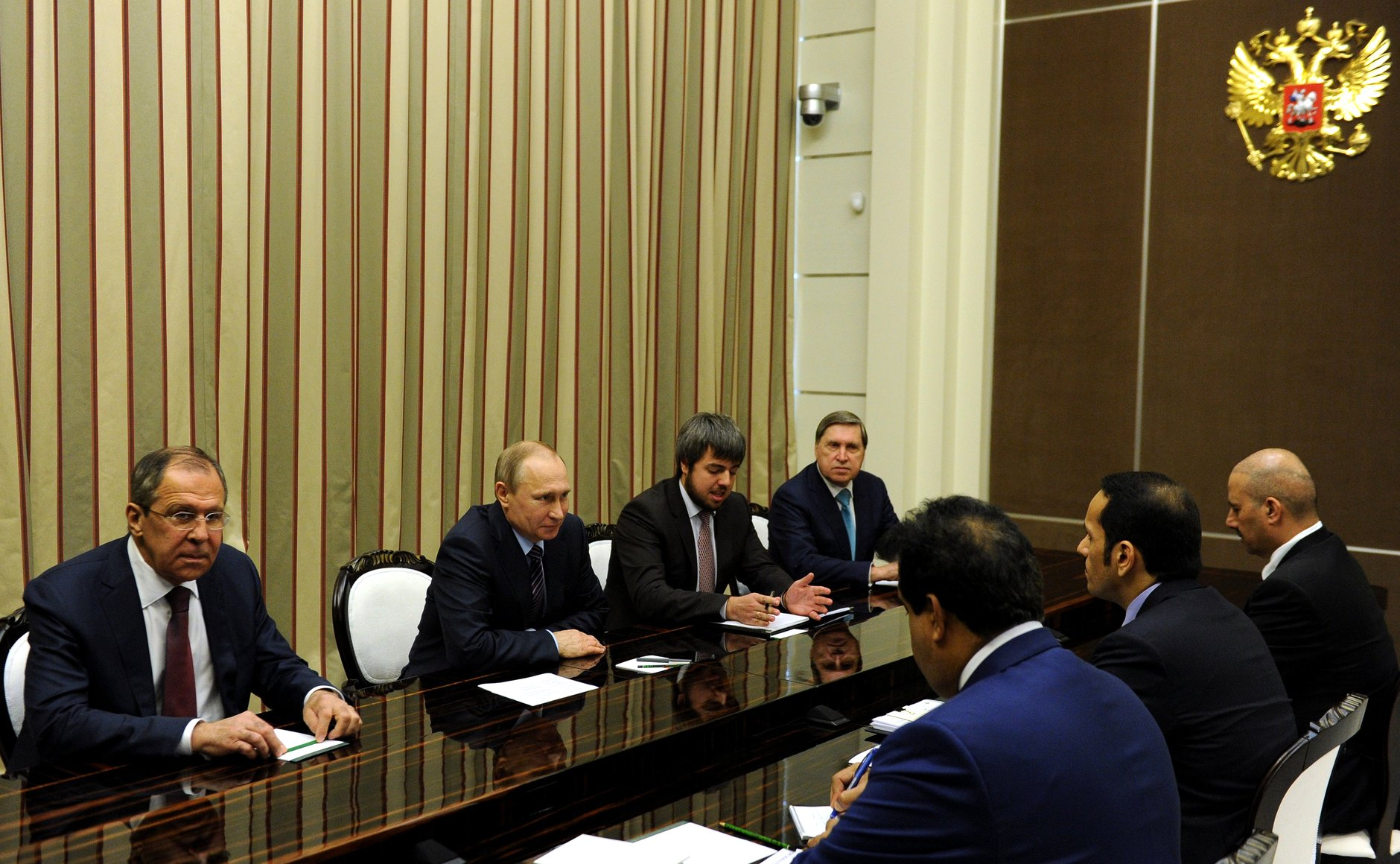 Russian President Vladimir Putin said at a meeting with Qatari Foreign minister Mohammed al-Thani.
