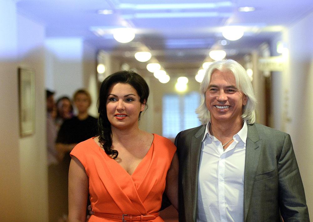 Anna Netrebko et Dmitri Khvorostovski. Crédit : Sergueï Karpov / TASS