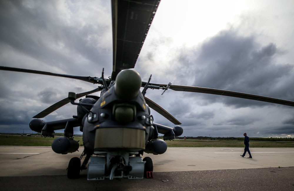 The Mi-28 Night Hunter was in Russian military operation in Syria.