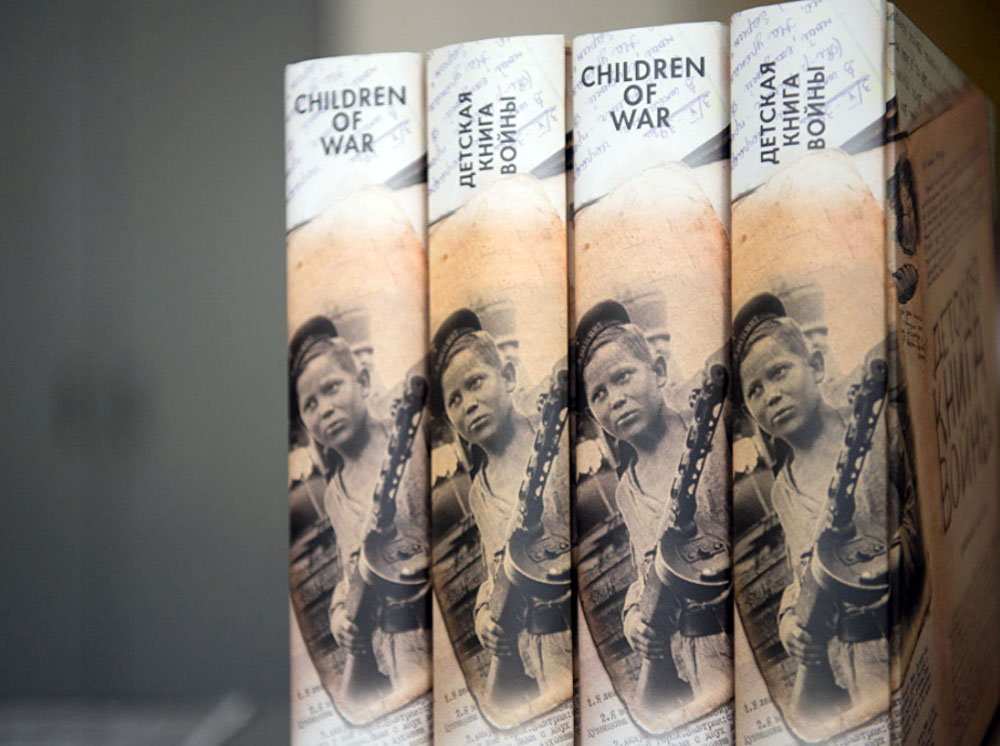 'Children of war' book was presented in London on May 9 by the Gift of Life charity foundation.
